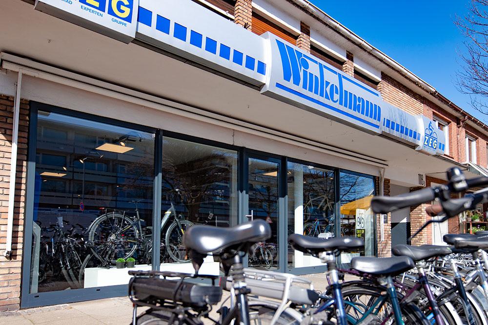 Zweirad Winkelmann | Haupteingang