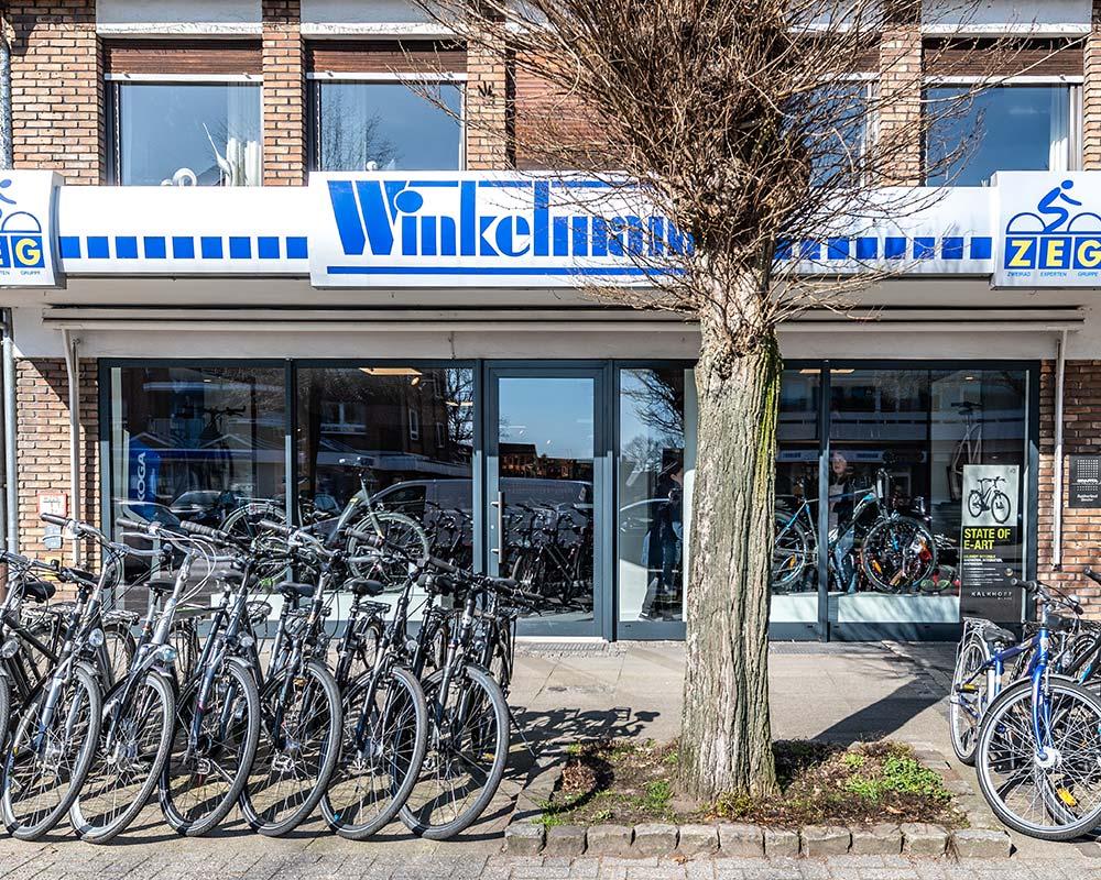 Zweirad Winkelmann - Haupteingang